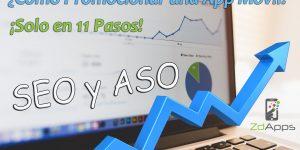 ¿Como-Promocionar-una-App-Móvil-en-11-Pasos? | ASO y SEO